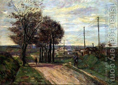 The Outskirts of Paris, c.1881 by Armand Guillaumin - Reproduction Oil Painting