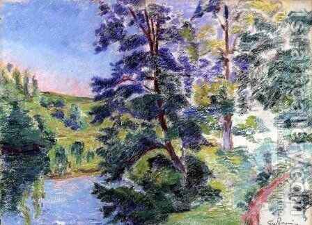 Landscape 2 by Armand Guillaumin - Reproduction Oil Painting