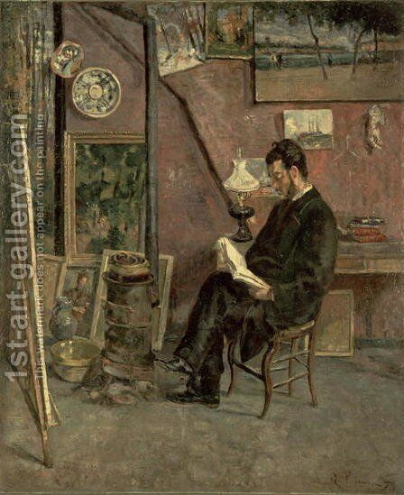 Portrait of Doctor Martinez, 1878 by Armand Guillaumin - Reproduction Oil Painting