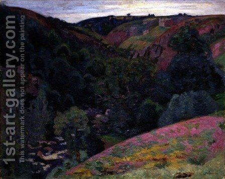 The Valley of the Sedelle, 1897 by Armand Guillaumin - Reproduction Oil Painting