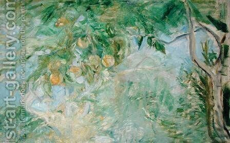 Orange Tree Branches, 1889 by Berthe Morisot - Reproduction Oil Painting