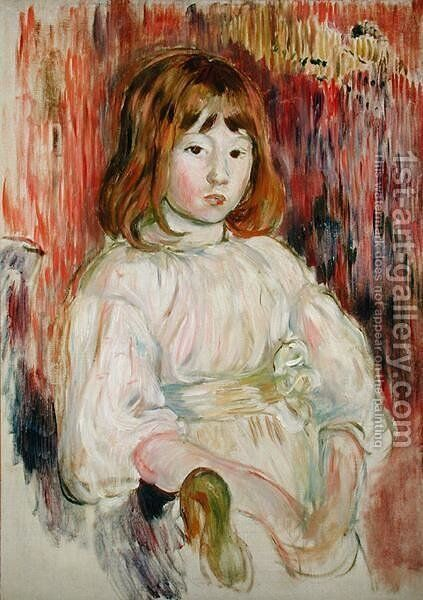Portrait of Marcelle, 1895 by Berthe Morisot - Reproduction Oil Painting