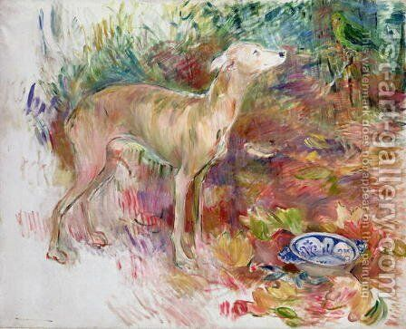 Laerte the Greyhound 1894 by Berthe Morisot - Reproduction Oil Painting