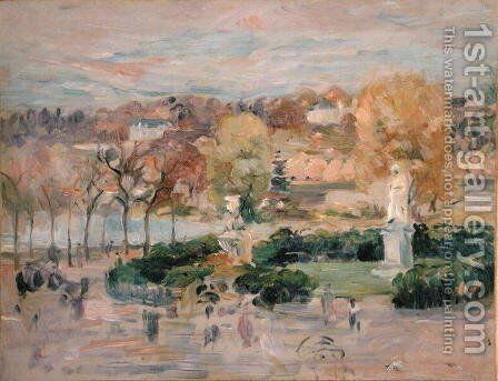 Landscape in Tours 1892 by Berthe Morisot - Reproduction Oil Painting