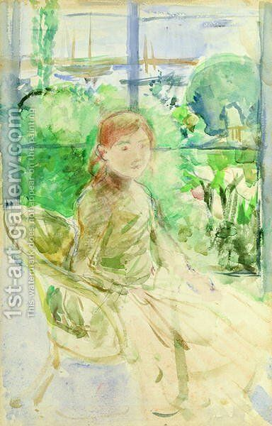 Interior of a Cottage 1886 by Berthe Morisot - Reproduction Oil Painting