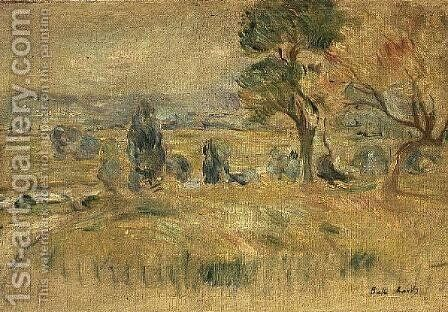 The Seine Valley at Mezy, 1891 by Berthe Morisot - Reproduction Oil Painting