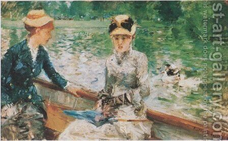 Summer's Day, 1879 by Berthe Morisot - Reproduction Oil Painting