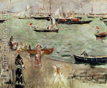 The Isle of Wight, 1875 by Berthe Morisot - Reproduction Oil Painting