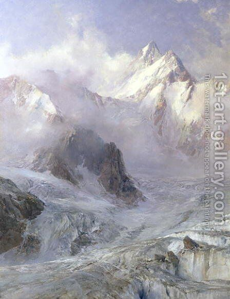 The Alps, c.1906 by Edward Theodore Compton - Reproduction Oil Painting