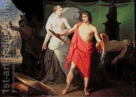 Achilles and Thetis by Mauro Conconi - Reproduction Oil Painting