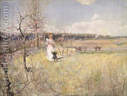 Springtime, 1888 by Charles Edward Conder - Reproduction Oil Painting