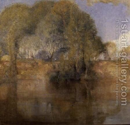 Vetheuil, 1892 by Charles Edward Conder - Reproduction Oil Painting