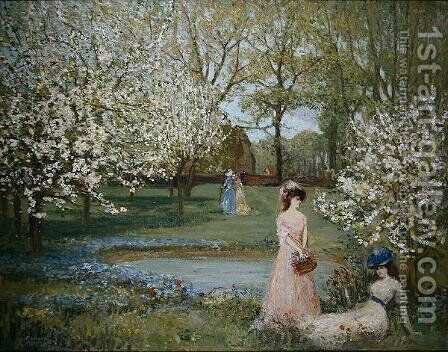 The Howe in Spring by Charles Edward Conder - Reproduction Oil Painting