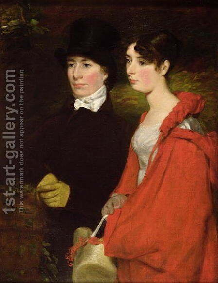 Ann and Mary Constable by John Constable - Reproduction Oil Painting