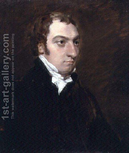 Portrait of John Fisher, Archdeacon of Berkshire, 1816 by John Constable - Reproduction Oil Painting