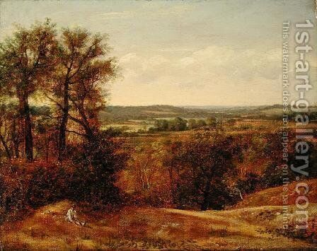 Dedham Vale, c.1802 by John Constable - Reproduction Oil Painting