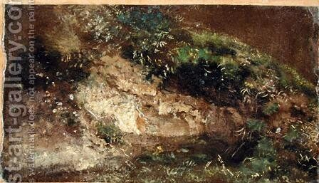 Undergrowth, c.1821 by John Constable - Reproduction Oil Painting