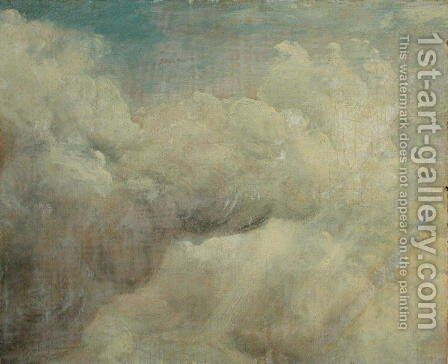 Cloud Study  1821 (4) by John Constable - Reproduction Oil Painting