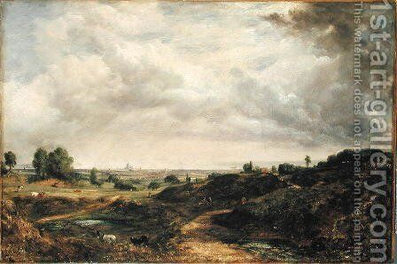 Hampstead Heath 2 by John Constable - Reproduction Oil Painting