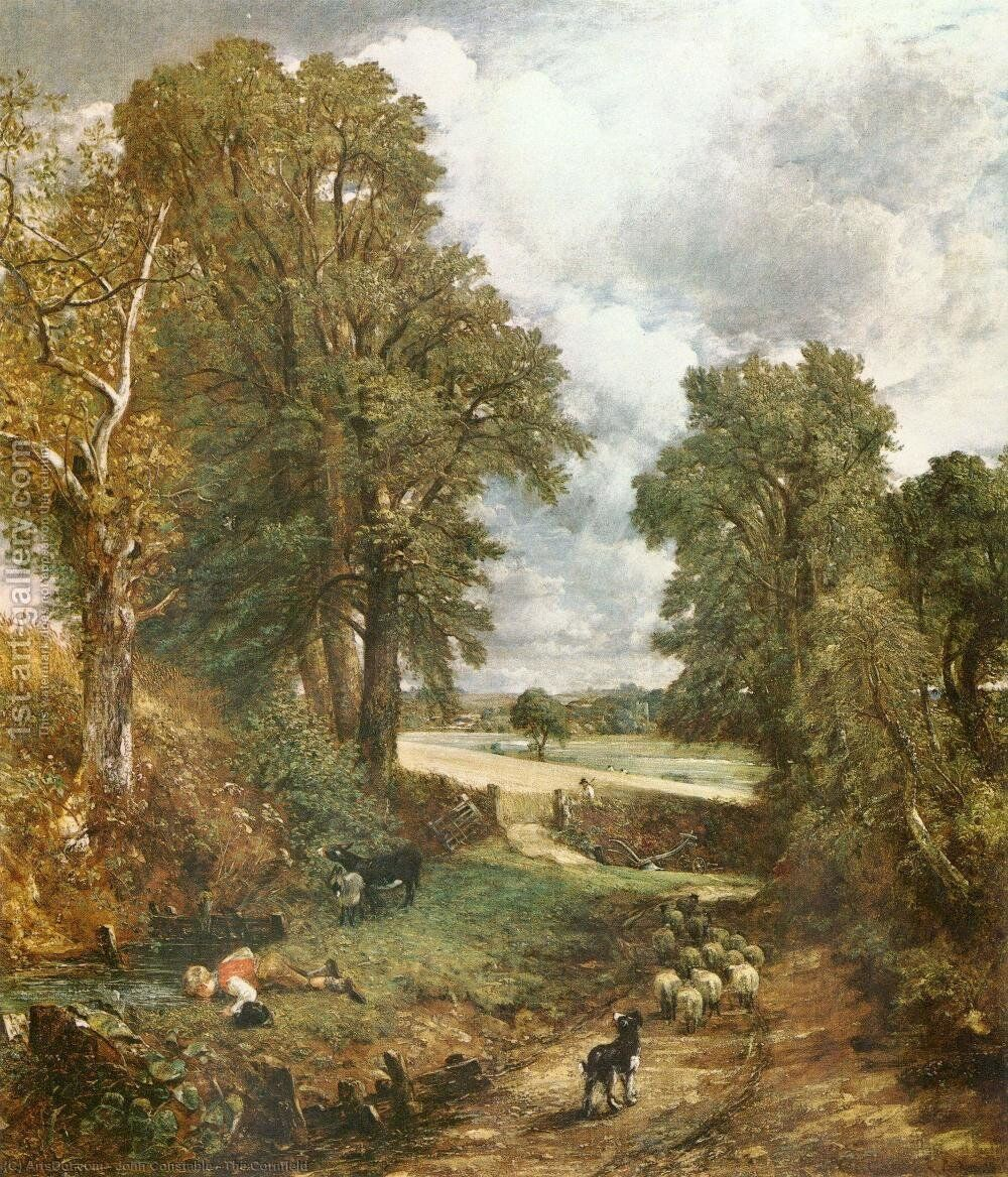 The Cornfield 1826 Painting By John Constable Reproduction 1st Art Gallery