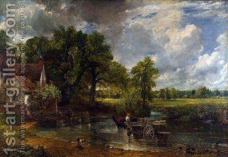 The Hay Wain, 1821 by John Constable - Reproduction Oil Painting