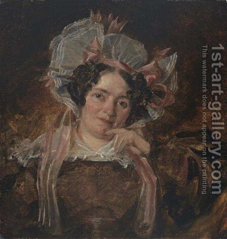 Portrait of a Woman, c.1818 by John Constable - Reproduction Oil Painting