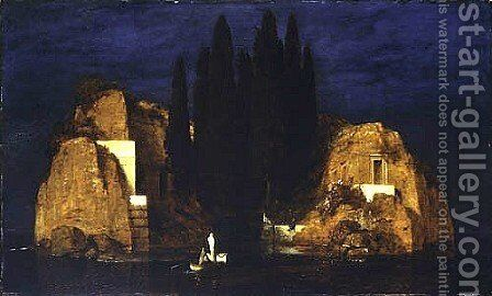 The Isle of the Dead, 1880 (3) by Arnold Böcklin - Reproduction Oil Painting