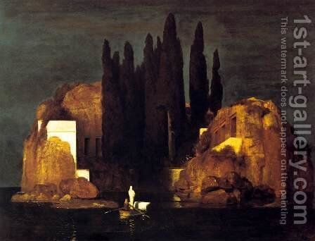 The Isle of the Dead, 1880 (2) by Arnold Böcklin - Reproduction Oil Painting