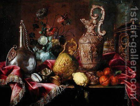 Still Life by Meiffren (Ephren) Conte (Leconte) - Reproduction Oil Painting