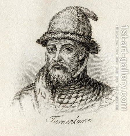 Tamerlane by J.W. Cook - Reproduction Oil Painting