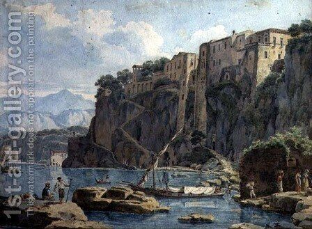 Amalfi by Edward William Cooke - Reproduction Oil Painting
