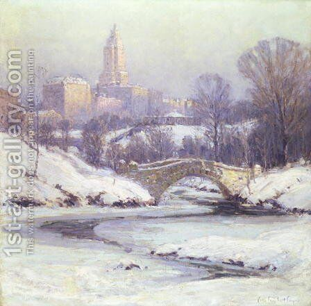 Central Park by Colin Campbell Cooper - Reproduction Oil Painting