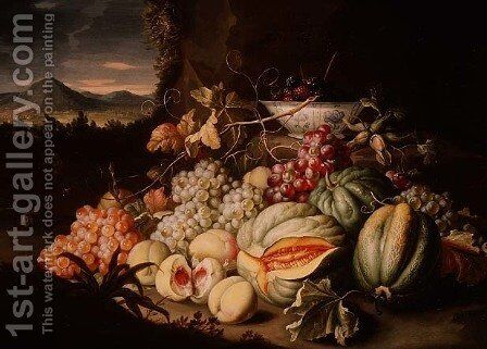 Still Life with Fruit by Alexander Coosemans - Reproduction Oil Painting