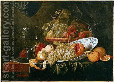 Still Life of Fruit by Alexander Coosemans - Reproduction Oil Painting