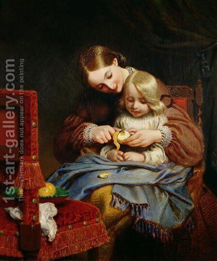Convalescent by Charles West Cope - Reproduction Oil Painting