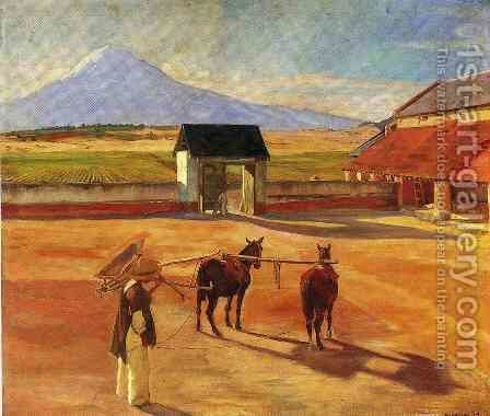 La Era 1904 by Diego Rivera - Reproduction Oil Painting
