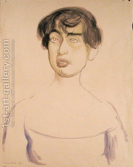 Portrait of Lupe Marin, 1922 by Diego Rivera - Reproduction Oil Painting