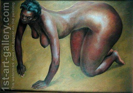 Dance on the Ground 1939 by Diego Rivera - Reproduction Oil Painting