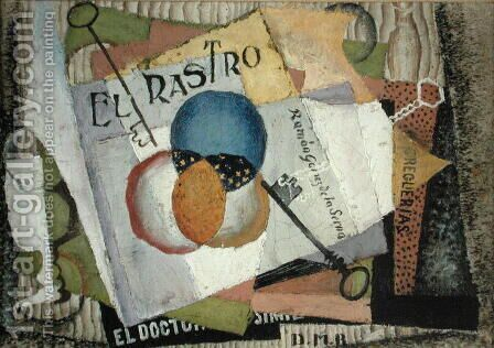 El Rastro 1916 by Diego Rivera - Reproduction Oil Painting