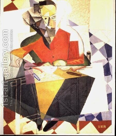 The Architect, Jesus T. Acevedo, 1915 by Diego Rivera - Reproduction Oil Painting