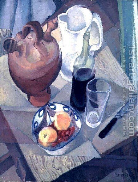 Still Life 1913 by Diego Rivera - Reproduction Oil Painting