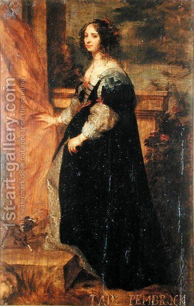 Portrait of a Lady, c.1650 by Gonzales Coques - Reproduction Oil Painting