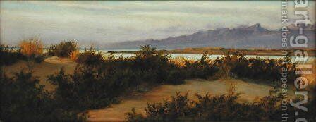 The Mouth of the Arno, 1890 by Matthew Ridley Corbet - Reproduction Oil Painting