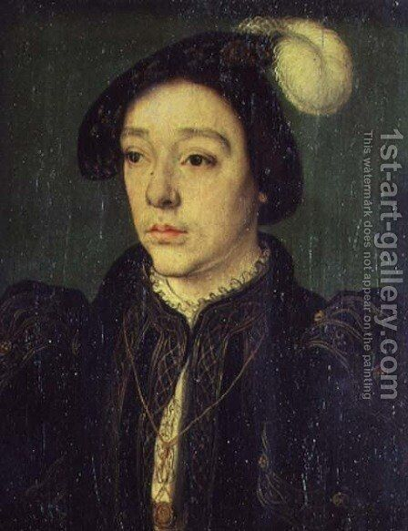 Portrait of Charles, Duke of Angouleme, c.1536 by Corneille De Lyon - Reproduction Oil Painting