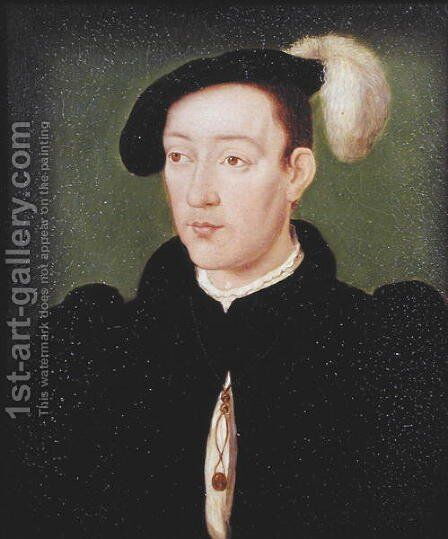 Dauphin Francois de France (1518-36) by Corneille De Lyon - Reproduction Oil Painting