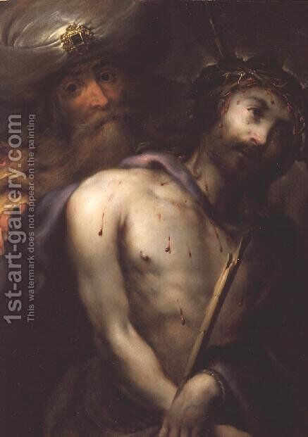 Ecce Homo by Jan Cossiers - Reproduction Oil Painting