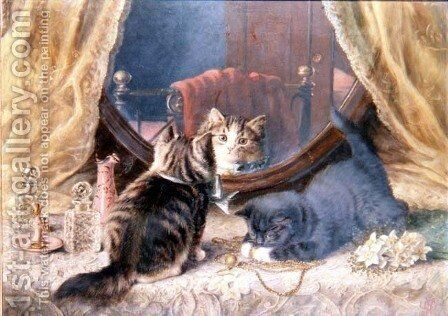 Beauties Toilet by Horatio Henry Couldery - Reproduction Oil Painting