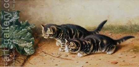 Cornered by Horatio Henry Couldery - Reproduction Oil Painting