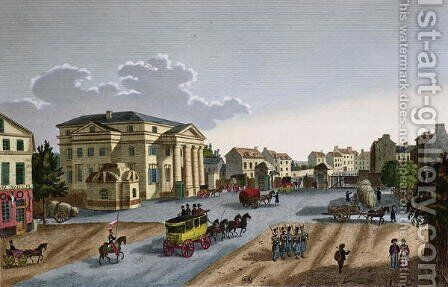 The Barriere Saint Denis, c.1815-20 by Henri  (after) Courvoisier-Voisin - Reproduction Oil Painting
