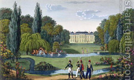 The Elysee Bourbon, c.1815-20 by Henri  (after) Courvoisier-Voisin - Reproduction Oil Painting